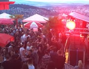 Szene vom Techno-Open-Air Himmelrich. (Bild Facebook)