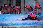 Das Einsiedler Welttheater ist auch in der diesjährigen Fassung ein optisches Spektakel der besonderen Art. (Bilder Boris Bürgisser)