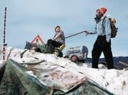 Anwohner sind im Streit über die Räumung der alten Mörlistrasse. (Bild: Romano Cuonz (NZ))