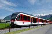 Ein Zug der Zentralbahn bei Stans. (Bild: Archiv Corinne Glanzmann)