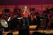 Stefanie Heinzmann tritt in Andermatt auf. (Bild: Manuela Jans/LZ)