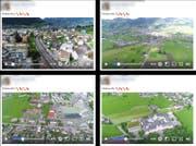 Das am 7. Juni veröffentlichte Flugvideo von Brunnen nach Schwyz ist inzwischen nicht mehr auf Facebook zu finden. (Bild: Screenshot Facebook)
