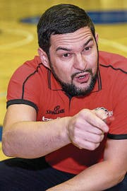 Danijel Eric ist Chef-Coach von Swiss Central Basketball. (Bild: MARTIAL TREZZINI (KEYSTONE))