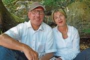 Peter und Irène Rohrer. (Bild: Robert Hess (30. Juli 2017))