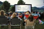 Zum zwanzigsten Mal findet im Strandbad Buochs-Ennetbürgen das Open-Air-Kino-Spektakel statt. (Bilder Andrea Waser)