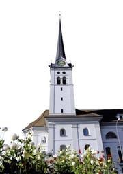 Die Pfarrkirche von Alpnach. (Bild Robert Hess)