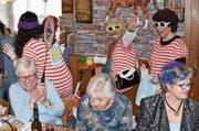 An der Altersfasnacht in Flüelen wurde ausgelassen gefeiert. (Bild: Georg Epp)
