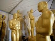 Während die Vorarbeiten für die Oscar-Verleihung noch laufen gibt es bereits die ersten politischen Erklärung von Filmschaffenden (Bild: KEYSTONE/EPA/MIKE NELSON)
