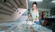 Glaskunst herstellen findet sich auch dieses Jahr im Angebot. (Bild: Stefan Kaiser (Auw, 6. August 2013))