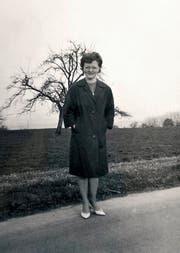 Die Melchtalerin Irma Mesterhazy-von Rotz kurz vor ihrem Abflug in die USA 1963. (Bild: pd)