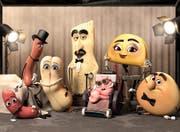 Leckere Speisen sind die Protagonisten in «Sausage Party», welche sich gegen die Gefrässigkeit der Menschen wehren müssen. (Bild: Disney/PD)