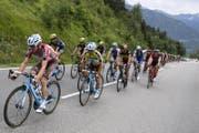 Die Tour de Suisse führt in diesem Jahr auch über die Pässe Furka und Klausen. (Symbolbild) (Bild: Keystone (16. Juni 2017, Sölden))