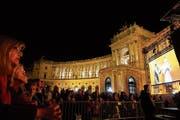 Eröffnungsfeier des neuen Weltmuseums in Wien. (Bild: Ingrid Schindler)