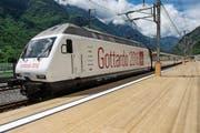 Die gestrige Eröffnung des Gotthard-Basis- tunnels hat auch Auswirkungen auf den Betrieb der SBB-Bergstrecke im Kanton Uri. (Bild: Keystone)