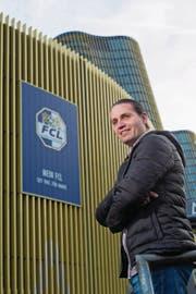 Zuversichtlich vor dem Start in den Fussball-Frühling: FCL-Sportchef Remo Meyer. (Bild: Dominik Wunderli (Luzern, 25. Januar 2018))