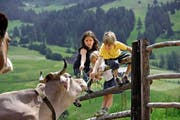 Für Kinder sind sie ein Erlebnis: Ferien auf dem Bauernhof. Die Einnahmen, die Bauern mit solchen Dienstleistungen generieren, können sehr wohl einschenken. (Bild: pd)