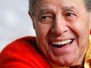 Jahrzehntelang trat Lewis in Filmen auf, berühmt war er für seine übertriebenen Grimassen. Nun ist er 91-jährig gestorben. (Archiv) (Bild: KEYSTONE/EPA/SEBASTIEN NOGIER)