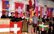 Das Damenteam aus Österreich war nicht zu schlagen. (Bild: Geri Holdener, Bote der Urschweiz)