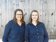 Haben auf der Frutt einiges vor: Sandra (links) und Jsabel Kretz. (Bild: PD)