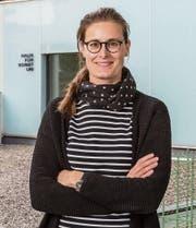 Joëlle Staub an ihrer neuen Wirkungsstätte. (Bild: F. X. Brun (18. 1. 2018))