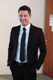 Christian Schäli, 43, CSP, Kerns, Kantonsrat, Rechtsanwalt bei der Ausgleichskasse Nidwalden, verheiratet, 3 Kinder. (Bild: Roger Zbinden)
