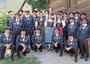 Für den Jodlerklub Seerose Flüelen gibt es nach dem Erfolg am Eidgenössischen Jodlerfest Brig nur eine kurze Pause, denn schon bald beginnen die Vorbereitungen für die Jodlerkonzert-Reihe «Yys fräiwt's!». (Bild: Cornelia Herger (Brig, 24. Juni 2017)