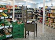 Das Frutt-Lädeli ist wieder offen. Isabel Kretz ist Geschäftsführerin von Laden und Bar. (Bild: Corinne Glanzmann, Melchsee-Frutt, 10. Januar 2018)