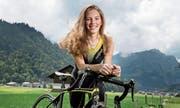 Fiona Steffen ist im Skiort Engelberg zu Hause, trainiert hier nach den Plänen ihres Trainers. (Bild: Corinne Glanzmann (16. Juni 2017))