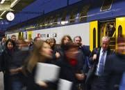 Ein Doppelstock-Zug der SBB. (Bild: Keystone)