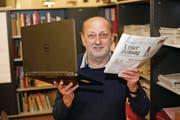 Redaktionsleiter Bruno Arnold: «Die Redaktion wird nicht nur die Print-Ausgabe bewirtschaften, sondern auch vermehrt www.urnerzeitung.ch.». (Bild: Florian Arnold (Altdorf, 29. 12. 2017))