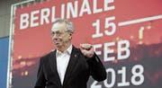 Dieter Kosslick ist seit 16 Jahren Leiter der Berlinale. Deutsche Filmschaffende drängen auf einen Neustart. (Bild: Reiner Zensen/Imago (Berlin, 6. Februar 2018))