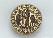 Zeichen von Macht und Selbstbewusstsein: Das Schwyzer Siegel, das erstmals Ende des 13. Jahrhunderts nachgewiesen ist. (Bild: Bundesbriefmuseum Schwyz)