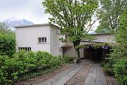 Dieses Haus an der Seestrasse in Flüelen hat der Urner Maler Heinrich Danioth 1933 gebaut. (Bild Urs Hanhart)