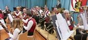 Mit dem Jahreskonzert hat die Musikgesellschaft Seelisberg den Lohn für viel Arbeit geerntet. (Bilder: Christoph Näpflin (Seelisberg, 27. Januar 2018))