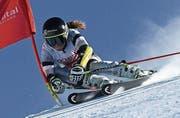 Delia Durrer möchte nun auch im Slalom brillieren. (Bild: PD)