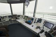Der Tower auf dem Flugplatz Buochs. (Bild: Sigi Tischler / Keystone (Buochs, 6. Dezember 2012))
