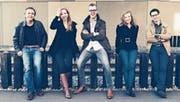 Das Nexus Reed Quintet mit Nicola Katz, Annatina Kull, Sandro Blank, Marita Kohler und Maurus Conte (von links) konzertiert am kommenden Sonntag in der Kollegikapelle in Altdorf. (Bild: PD)