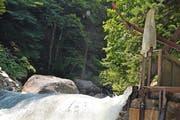 Ein Kraftwerk am Alpbach bleibt eine realistische Idee. (Bild Neue UZ)