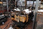Die Dampflok 1068, die durch den Brand 2013 stark beschädigt wurde. Bild: Pascal Troller/PD