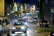 Und täglich stehen die Autofahrer in Cham im Stau. (Bild: Stefan Kaiser (Neue ZZ))