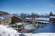 Die Unterkunft für das Langlauflager im Langis. (Bild: Corinne Glanzmann / Neue OZ)