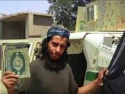 Abaaoud ist tot: Er wurde am Mittwoch bei der Razzia getötet (Archiv). (Bild: KEYSTONE/EPA YOUTUBE)
