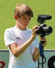 Balin und seine grosse Passion: das Filmen. (Bild: PD)