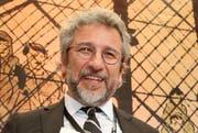 Can Dündar, Chefredakteur der Zeitung «Cumhuriyet», ist einer von zwei türkischen Journalisten, welche den Hermann-Kesten-Preis erhalten. (Bild: Keystone / Bodo Marks)