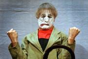 Dimitri, hier bei einem Auftritt im November 2003 im Theater am Hechtplatz in Zürich. (Bild: Keystone / Eddy Risch)