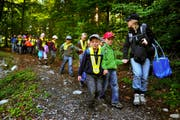 So würde das auch in Sarnen aussehen: im Bild der Kindergarten Stans im Buoholzwald in Dallenwil. (Archivbild Corinne Glanzmann)