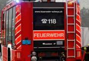 Zur Räumung der Ibergereggstrasse rückte die Schwyzer Feuerwehr aus. (Symbolbild)