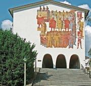 Das «Fundamentum» am Bundesbriefmuseum in Schwyz. (Bild: PD)