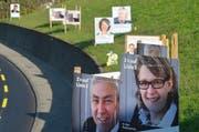 Politberater Roman Jäggi hat im Auftrag unserer Zeitung Wahlplakate unter die Lupe genommen. (Symbolbild) (Bild: Archiv Bert Schnüriger)