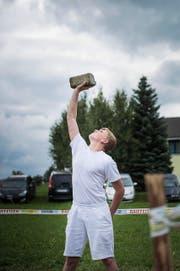 Lars Mehr (14) aus Wolfenschiessen will am Samstag in Ennetbürgen wieder zeigen, was er kann. (Bild: PD)